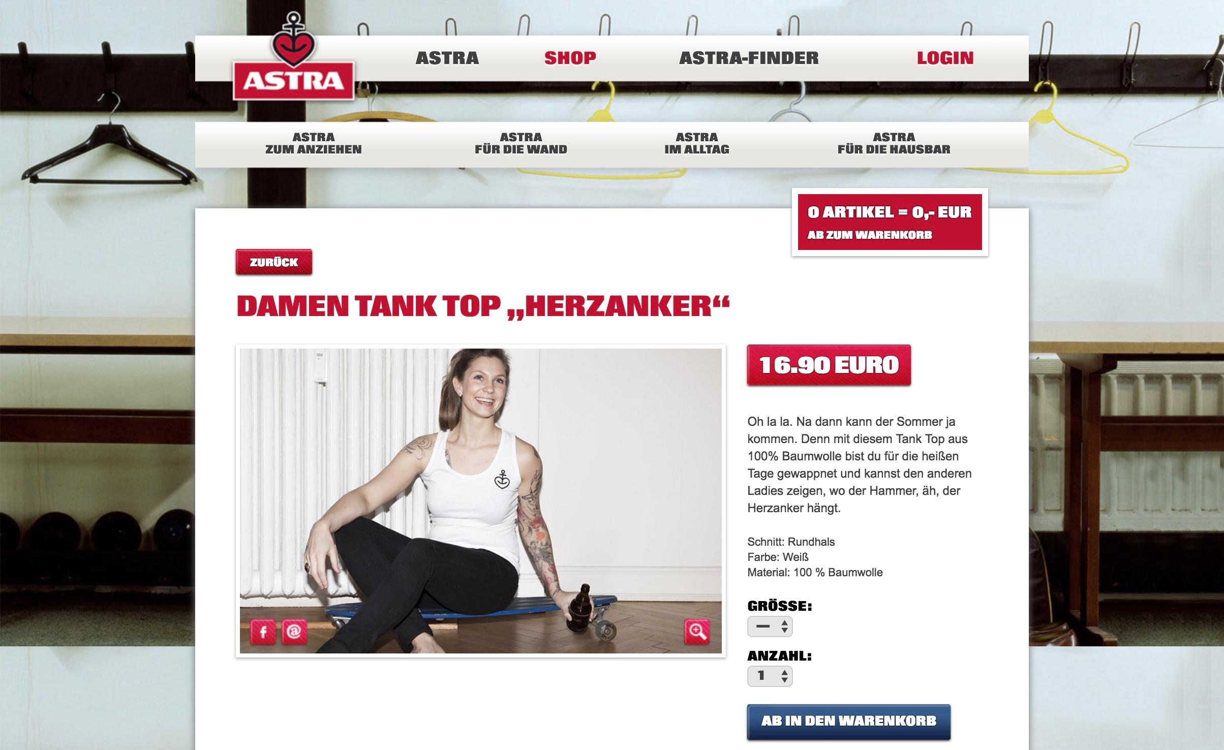 Astra Online Shop Tank Top Woman