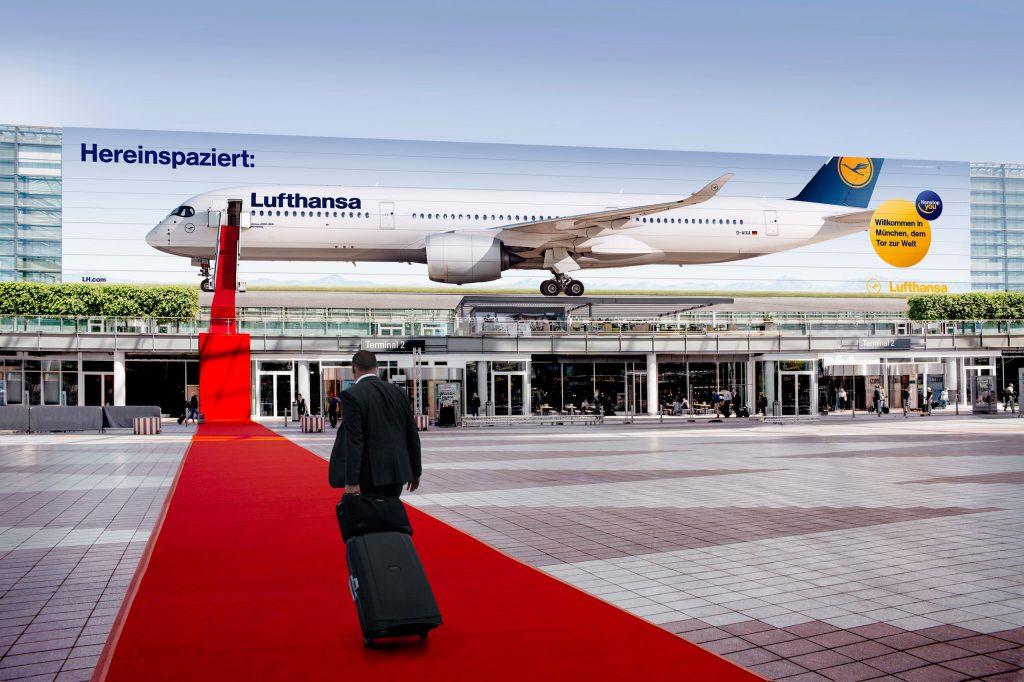 flughafen lufthansa texter kampagne freelance kreativ award airport